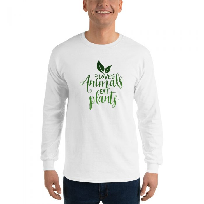 Love Animals Eat Plants Long Sleeve T-Shirt