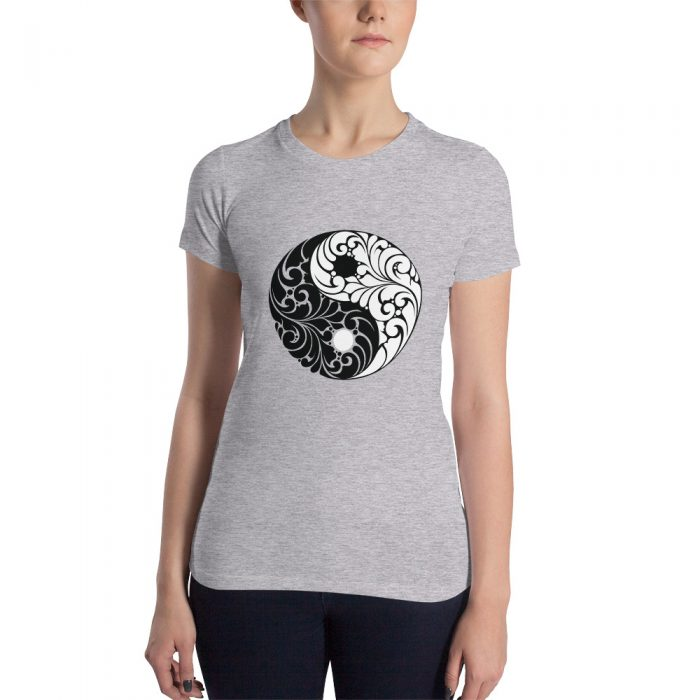 Yin Yang Women's Slim Fit T-Shirt