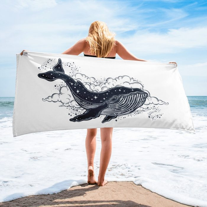Space Whale Towel