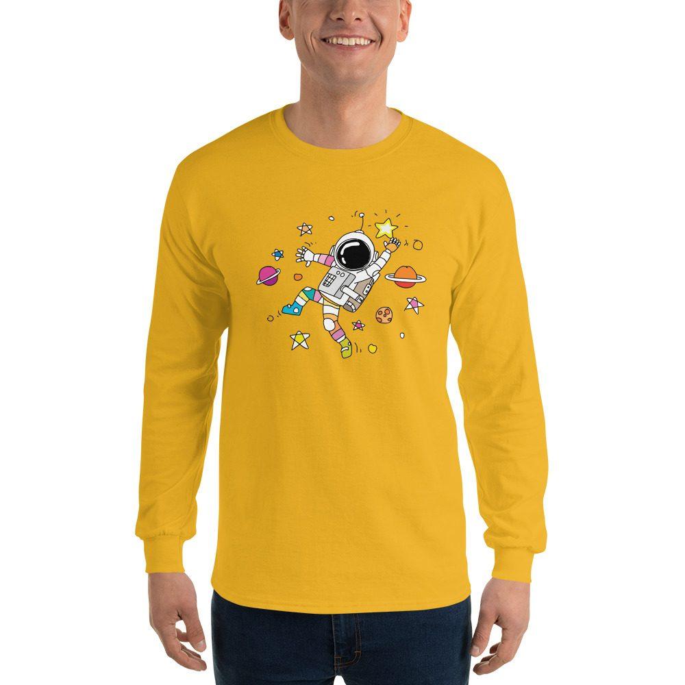 Dancing Astronaut Long Sleeve T-Shirt