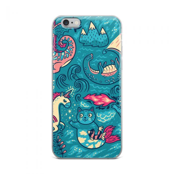 Magic Background iPhone Case