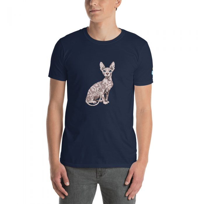 Sphynx Cat Short-Sleeve Unisex T-Shirt