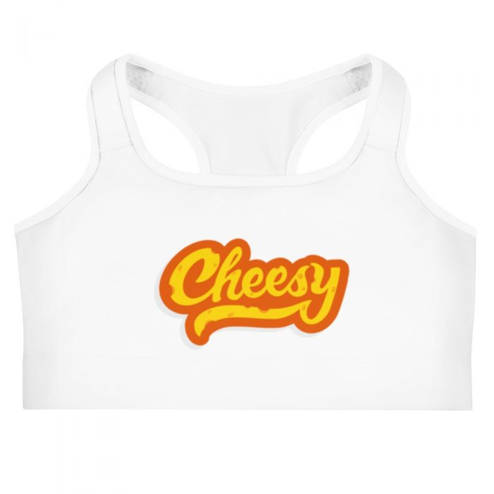 Cheesy Sports bra