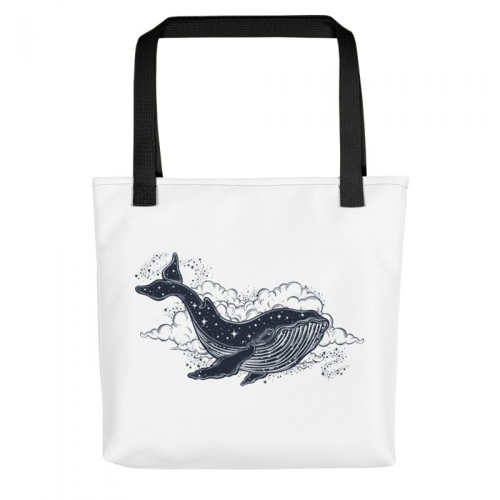 Space Whale Tote bag
