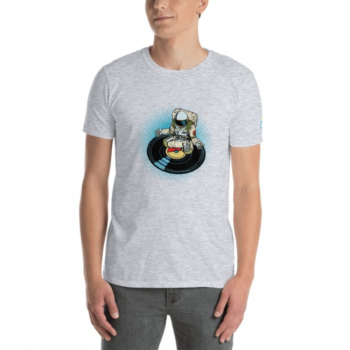 Meditating Astronaut Short-Sleeve Unisex T-Shirt
