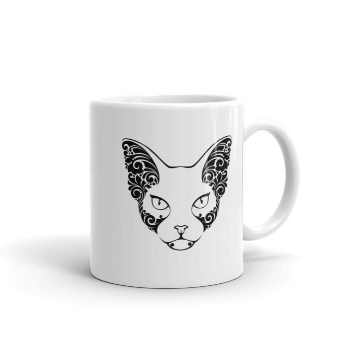 Sphynx Cat Tattoo Mug
