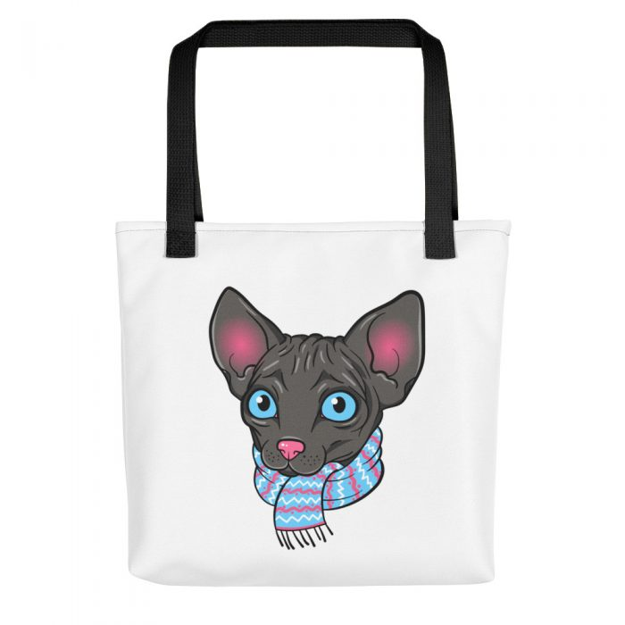 Cartoon Sphynx Cat Tote bag