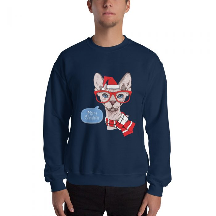 Sphynx Cat Christmas Sweatshirt