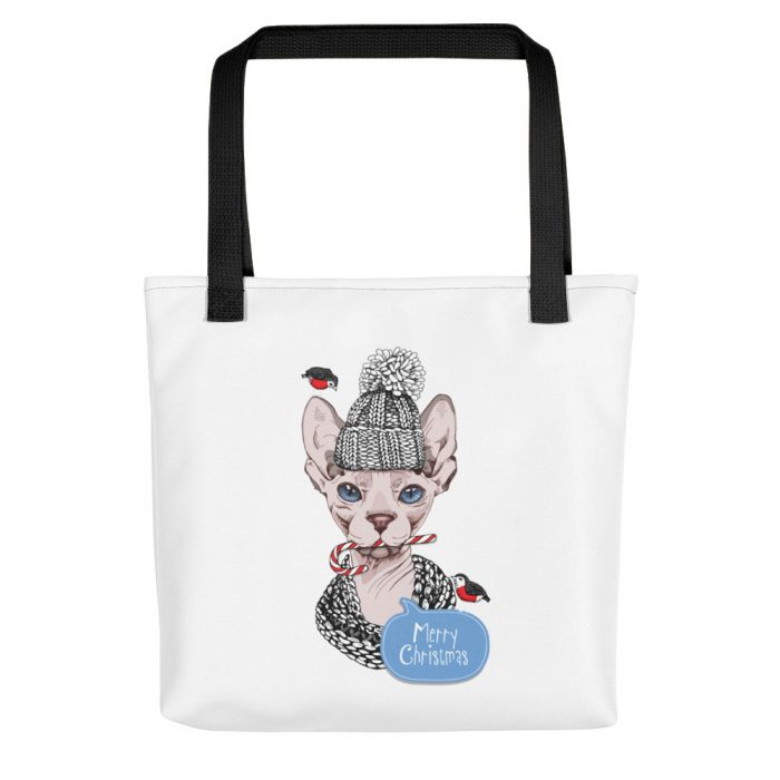 Sphynx Cat Christmas Tote bag