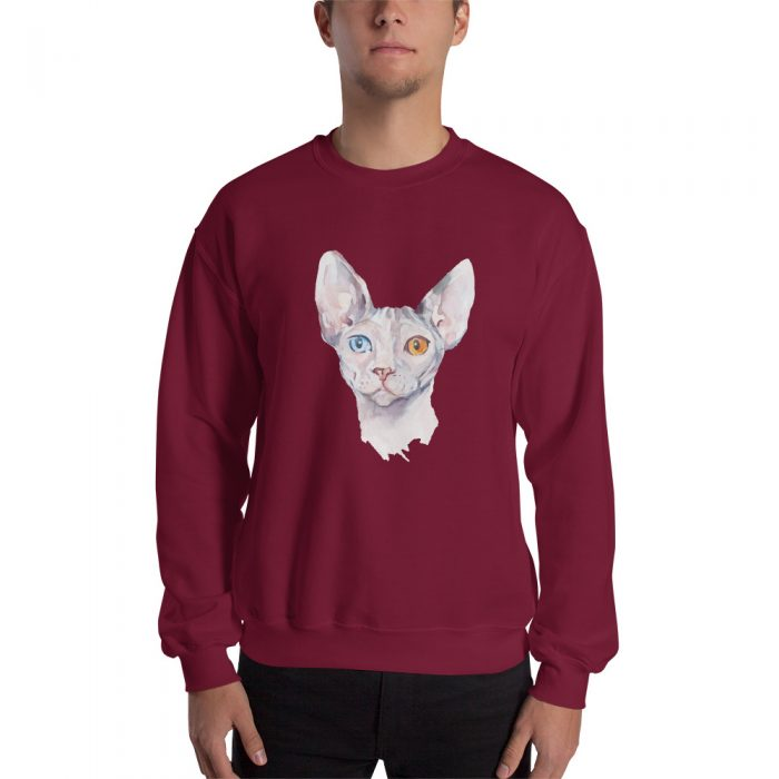 Sphynx Cat Portrait Sweatshirt