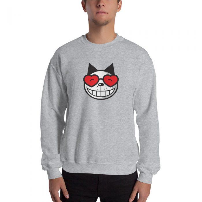 Vintage Cat Unisex Sweatshirt